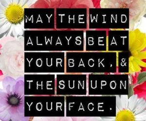 quote, sun, and wind image