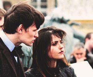 doctor who, jenna coleman, and matt smith image