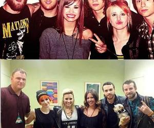 demi lovato, paramore, and demi and hayley image