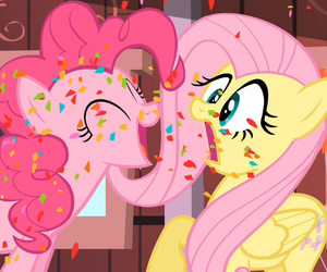 best friends, MLP, and my little pony image