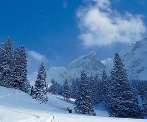 free, scenery, and Skiing image