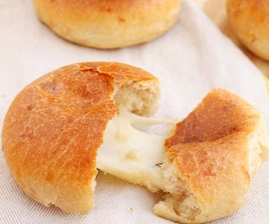 bread, cheese, and yeast image