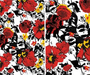 fashion, flowers, and pattern image