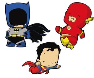 batman, flash, and hero image