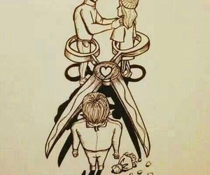 love, couple, and hurt image