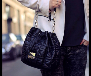 beautiful, black, and chanel image