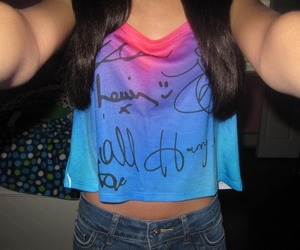 girl, fashion, and one direction image