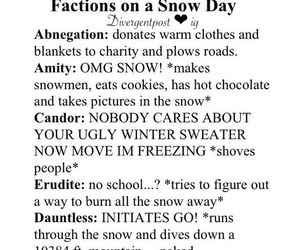 amity, winter, and snow day image