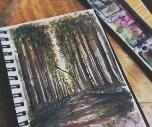 art, water paint, and ♥drawings♥ image