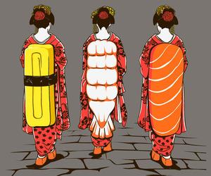 art and sushi image