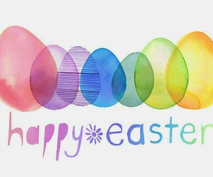 eggs, easter, and happy easter image