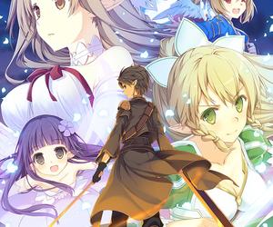 anime girl, illustration, and lizz image