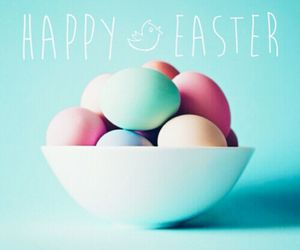 easter, eggs, and happy easter image