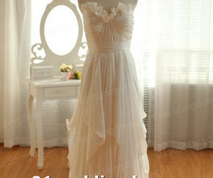 bridal gown, wedding gown, and bridal dress image