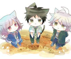 anime, chibi, and nagito komaeda image