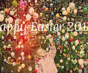 easter, eggs, and happy image