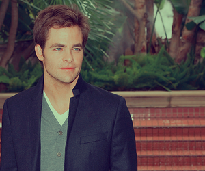 chris pine, beautiful, and handsome image