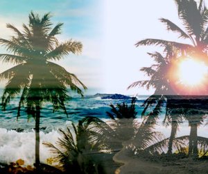 summer, beach, and sun image