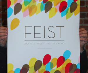 poster and Feist image