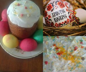 easter, easter eggs, and easter cake image