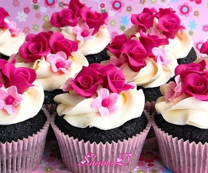 cupcake, sweet, and yummy image