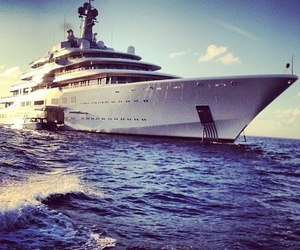 luxury, summer, and boat image