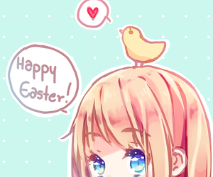 anime, art, and easter image