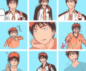 anime, kuroko no basket, and manga image
