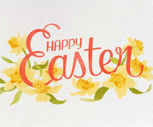 bunny, paintings, and easter image