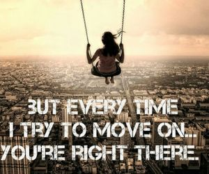 move on, quotes, and try image