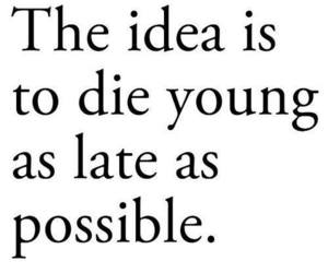 quote, young, and life image