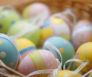 easter eggs and travel image