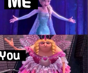 frozen, funny, and despicable me image