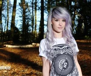 alternative, purple hair, and girl image