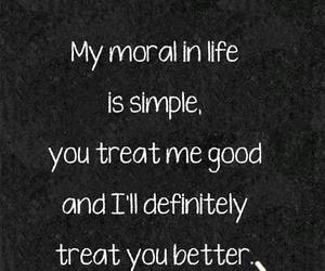 quote and moral image