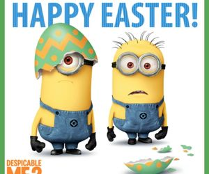 easter, minions, and despicable me image