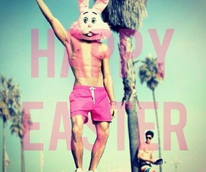 happy easter, love, and pink image