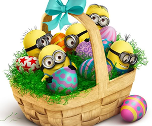 minions and easter image