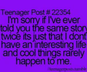 teenager post, cool, and sorry image