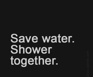 shower, love, and together image