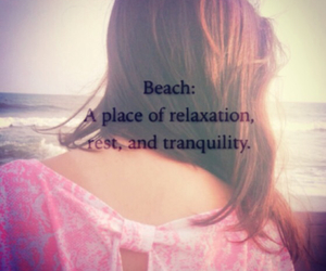 beach, relax, and summer image