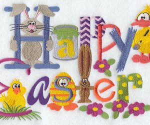 easter and easter greetings image
