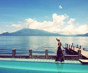 guatemala, travel, and lake atitlan image