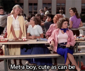 grease, movie, and love image