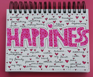 happiness, pink, and happy image