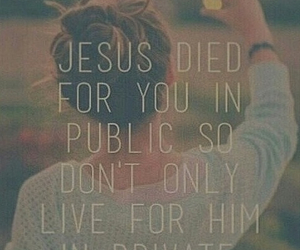jesus, Died, and love image