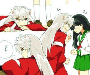kawaii, kagome, and inuyasha image