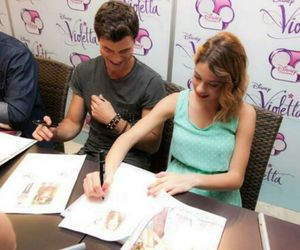 tini, violetta, and diego domínguez image