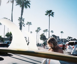 summer, beach, and hipster image