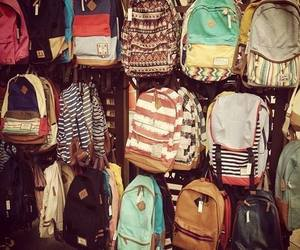 bag, backpack, and cool image